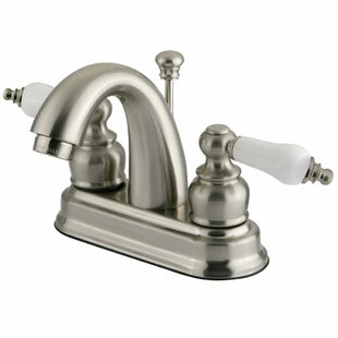 Kingston Brass Restoration Centerset Bathroom Faucet with Pop-Up Drain Image
