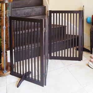 wood pet gate - Doggie Gates