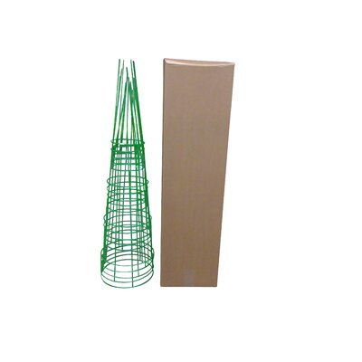 Plant Support Glamos Wire Color: Light Green, Size: 54 H x 16 W x 16 D