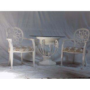 Spider 3 Piece Dining Set Benetti's Italia