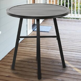 Ladner Metal Bistro Table