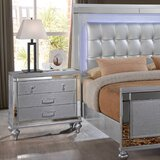 Valencia Standard 3 Piece Bedroom Set by House of Hampton