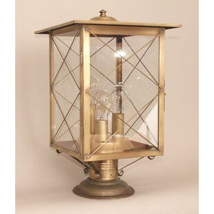 Gracie Oaks Crosby 3-Light Post Lantern Head