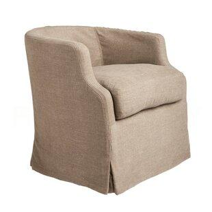 Michael Swivel Barrel Chair by Aidan Gray