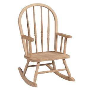 Mistana Lynn Rocking Arm Chair