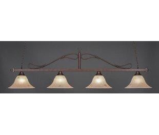 Reba 4-Light Pendant by Fl..