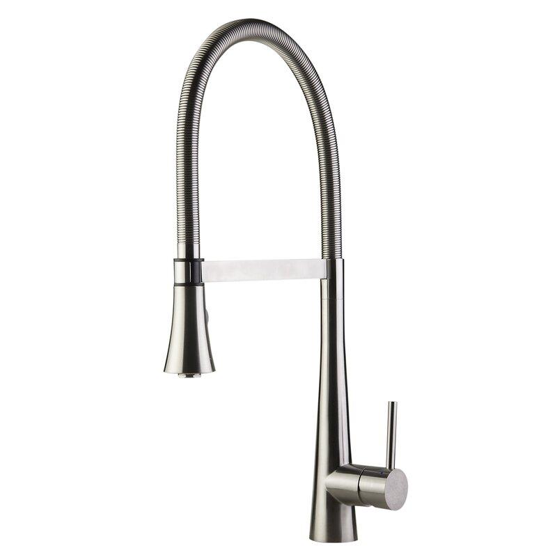 Alfi Brand Single Handle Pull Down Kitchen Faucet Wayfair