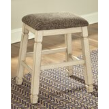 Corrinne Upholstered 24 Bar Stool (Set of 2) by Winston Porter
