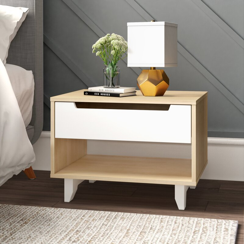Coalmont 1 - Drawer Nightstand in Natural