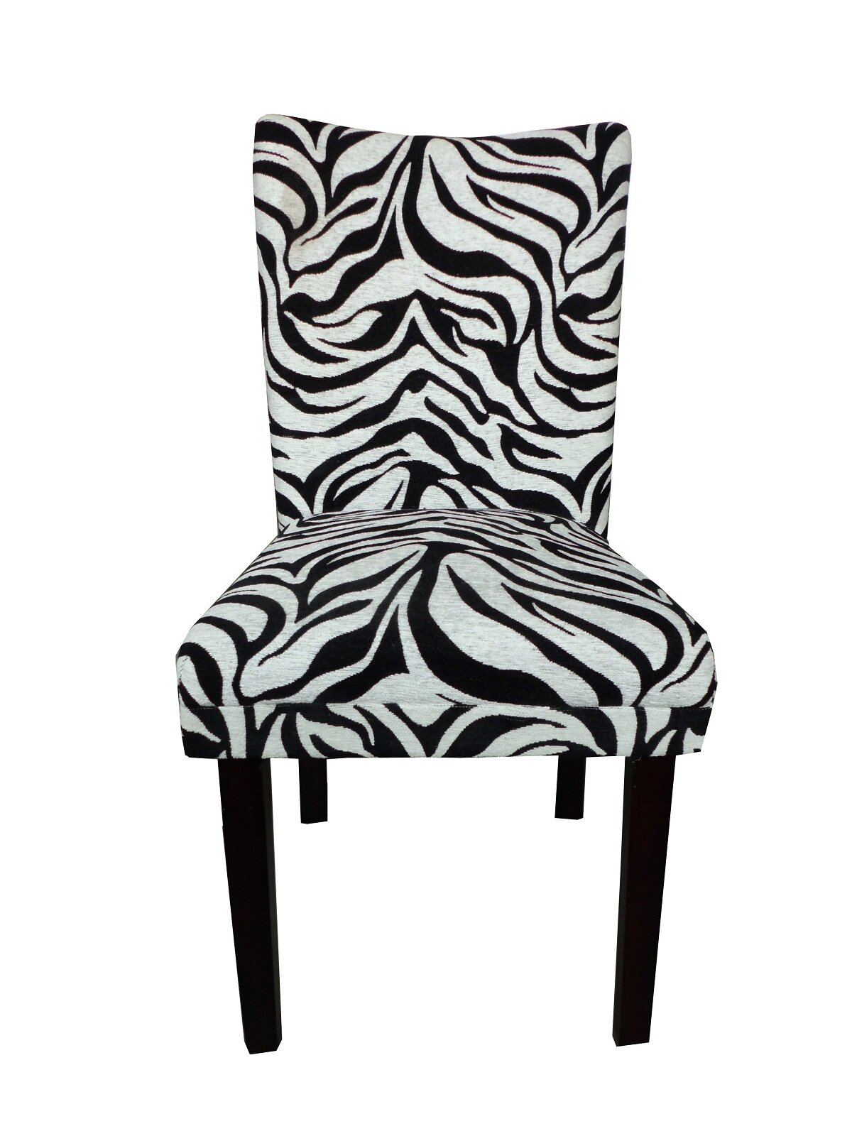 NOYA USA Tiger Striped Upholstered Dining Chair | Wayfair