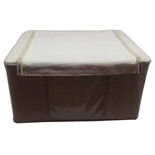 Affordable Soft Storage Organizer Fabric Box By Rebrilliant