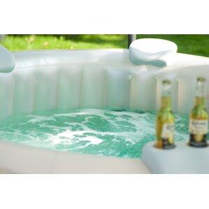 headrest and cup holder comfort set - Wayfair Hot Tub
