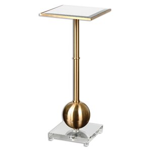 Laton Mirrored End Table by Uttermost