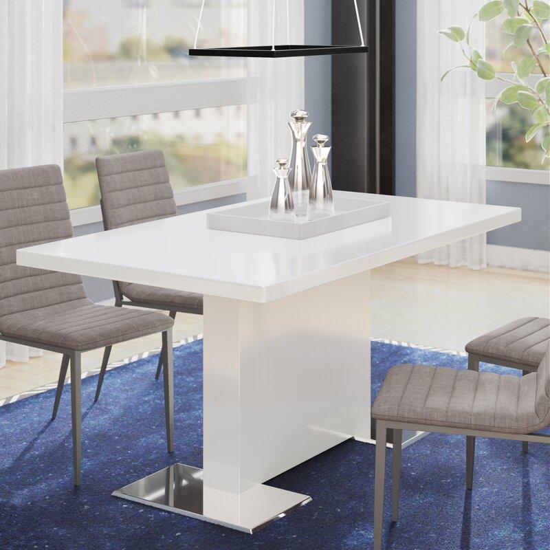 Wade Logan Plumville Dining Table Reviews Wayfair