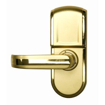 Silver Right Handle iTouchless Bio-Matic Fingerprint Door Lock