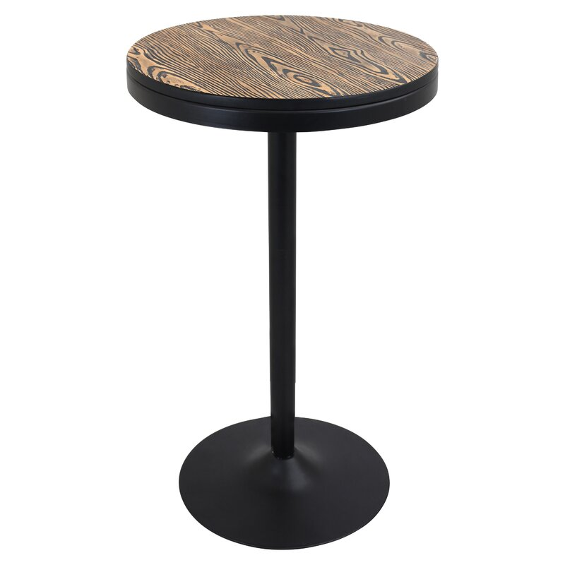 yoshiko adjustable height pub table