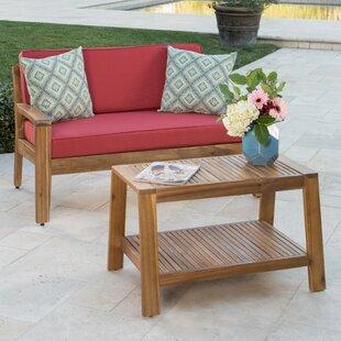 Breakwater Bay Eells 2 Piece Sofa Set with Cushions