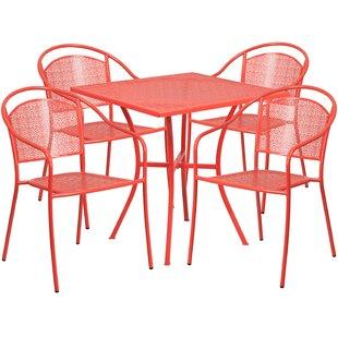Zipcode Design Alishia 5 Piece Dining Set