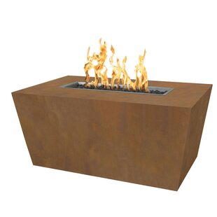 The Outdoor Plus Mesa Steel Fire Pit Table