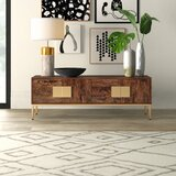 Kyte Solid Wood TV Stand for TVs up to 65 by Mercury Row®