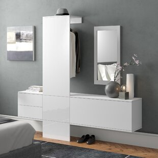 Carlton 4 Piece Hallway Unit By Vladon