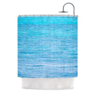 South Pacific II by Catherine McDonald Ocean Water Single Shower Curtain