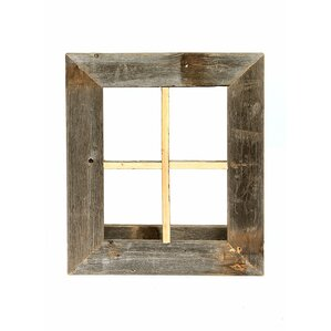 Window Pane Wall Decor rustic window pane wall decor | wayfair