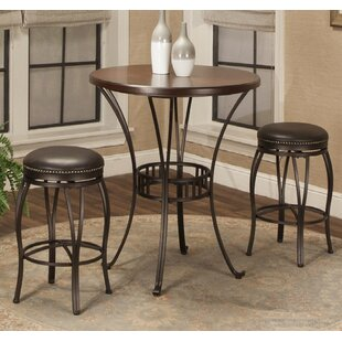 Orleans 3 Piece Pub Table Set Red Barrel Studio