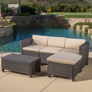 Furst 5 Piece Sectional Seating Group with Cushions
