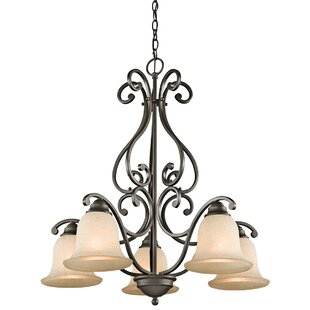 Alcott Hill Santistevan 5-Light Shaded Chandelier
