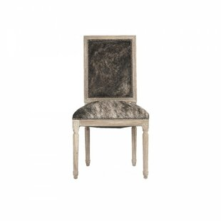 Arviso Cowhide Side Chair