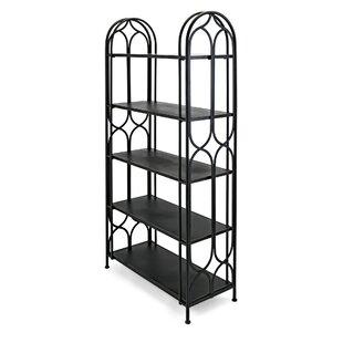 Yardley Metal Etagrete Bookcase by Gracie Oaks