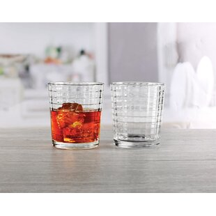 Shanelle 12.5 oz. Glass Every Day Glasses (Set of 4)