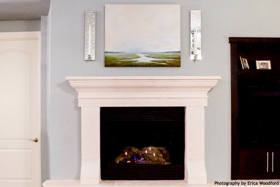 Heather Scott Heather Scott Home & Design fireplace mantel
