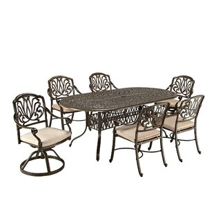 Lular 7 Piece Dining Set with Cushions