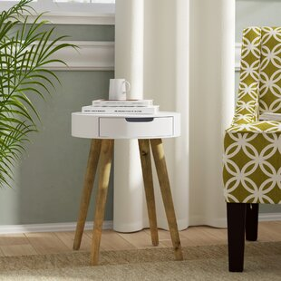 Johnathon Side Table With Storage By Norden Home