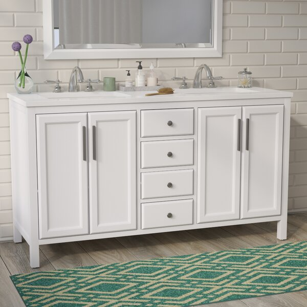 48 Inch Double Vanity Wayfair Custom Bathroom Vanities Bay Area