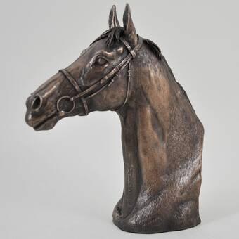 Design Toscano Majestic Stallion Horse Bust Wayfair Co Uk