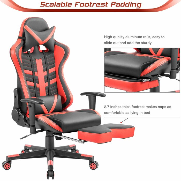 High Back Racing Style PC & Racing Game Chair