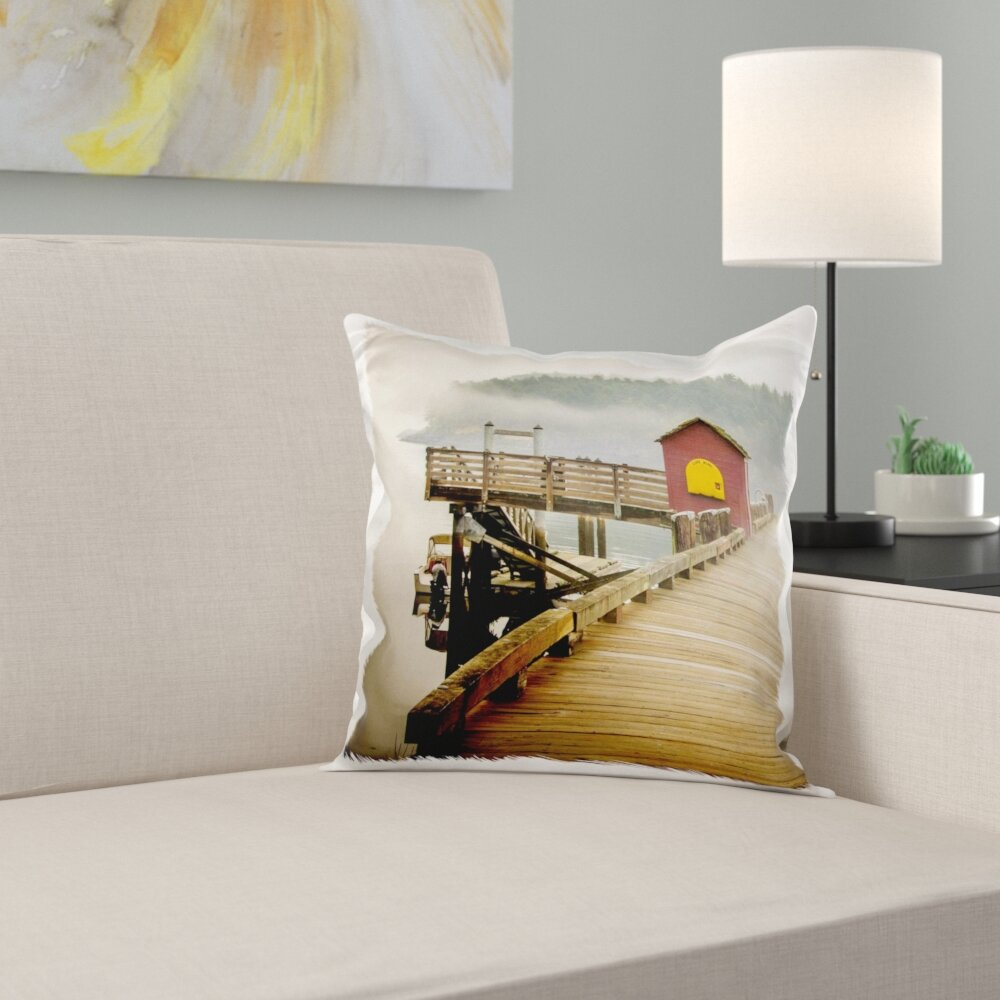 East Urban Home Usa Washington San Juans Stuart Island Prevost Harbor Pillow Cover Wayfair