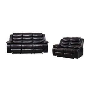 Hillard Reclining 2 Piece Living Room Set by Latitude Run