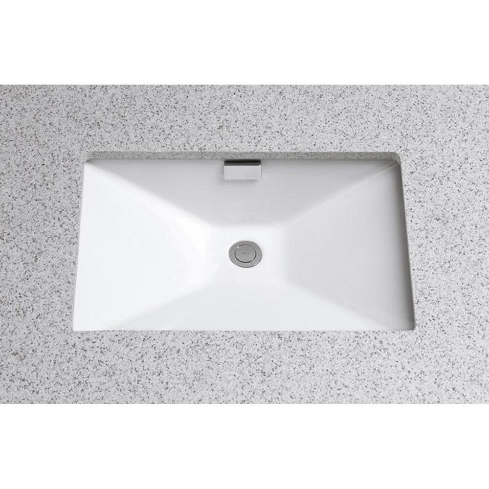Toto Lloyd Ceramic Rectangular Undermount Bathroom Sink with ...