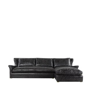 Winslow Leather Sectional by Curations Limited Sale