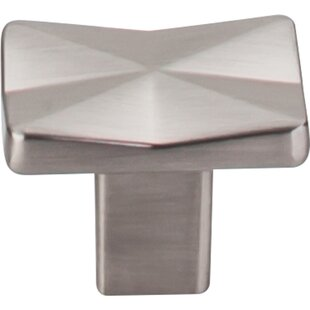Mercer Quilted Square Knob