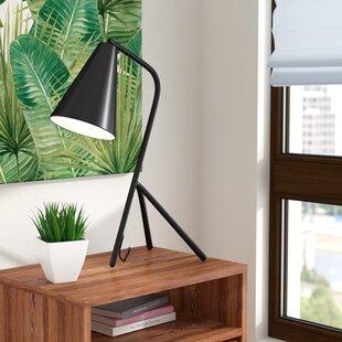 Best Review Mathew Metal 23.5 Table Lamp By Wade Logan