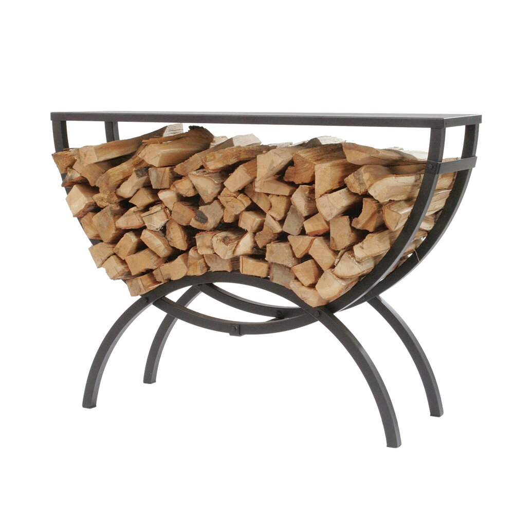 Shelter Crescent Log Rack Table Top U0026 Reviews | Wayfair