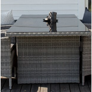 Mabton Rattan Dining Table By Sol 72 Outdoor