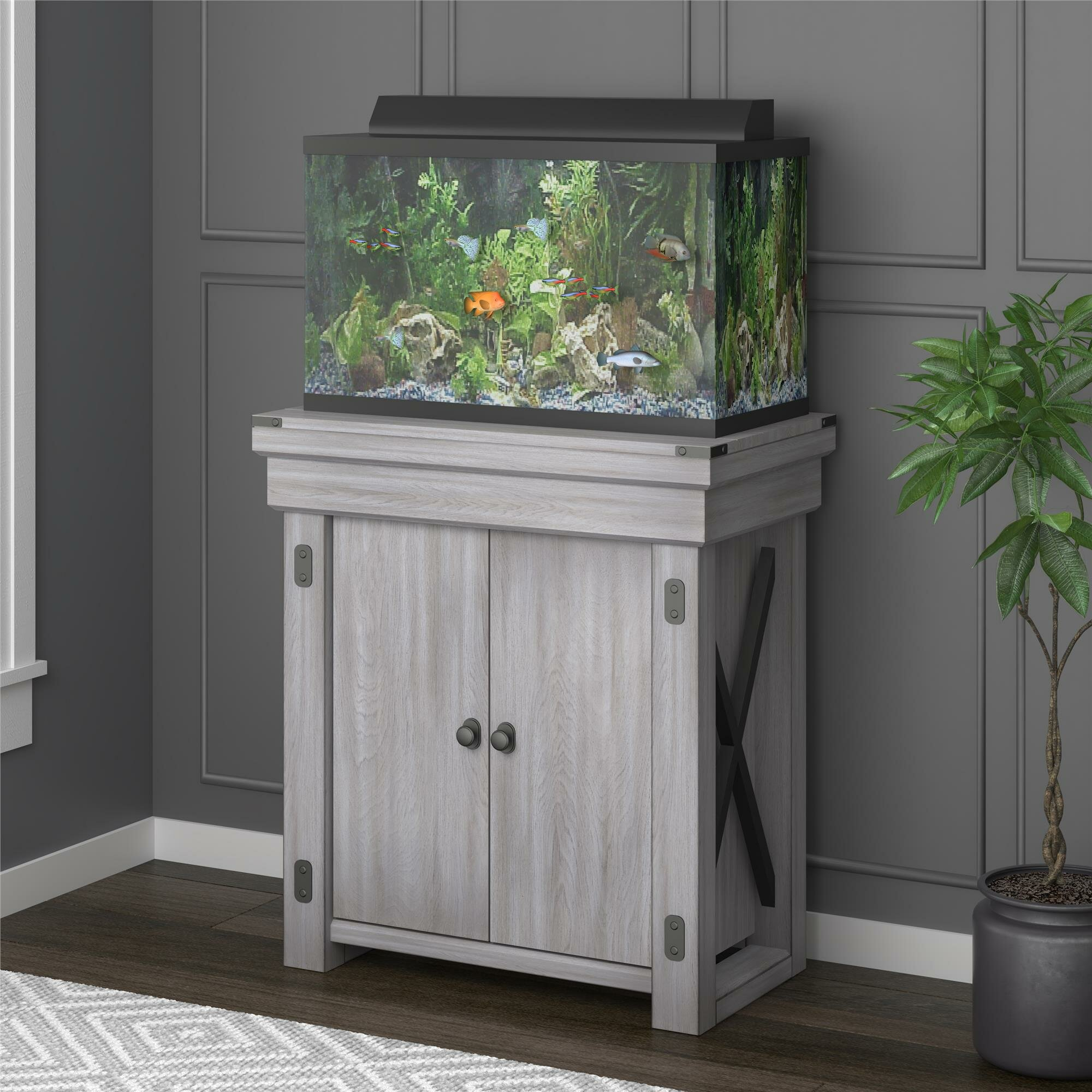 55 Gallon Fish Tank Stand | Wayfair