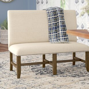 Melstone Upholstered Bench by Three Posts