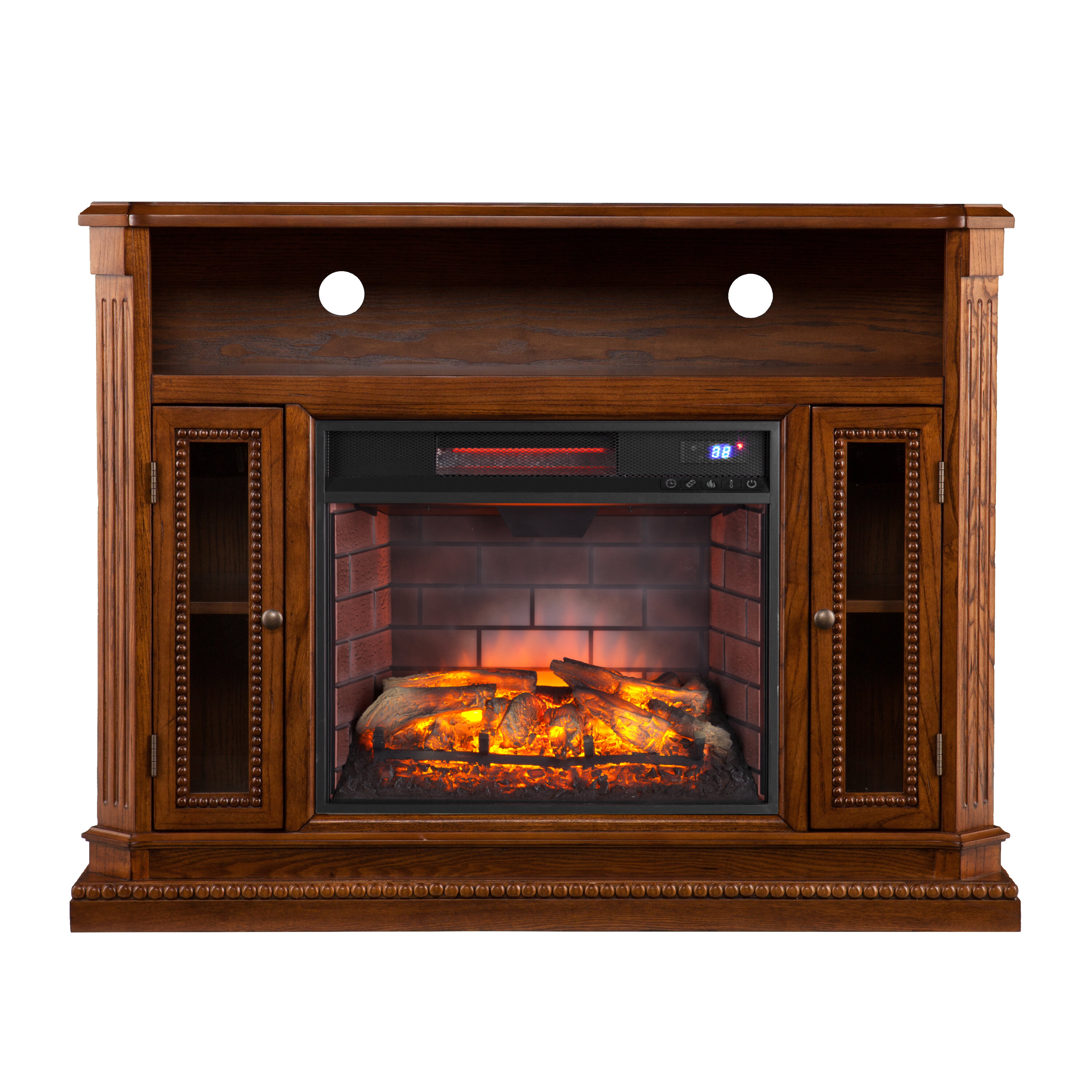 for fireplace com to whalen tvs up ip walmart cherry inch electric media